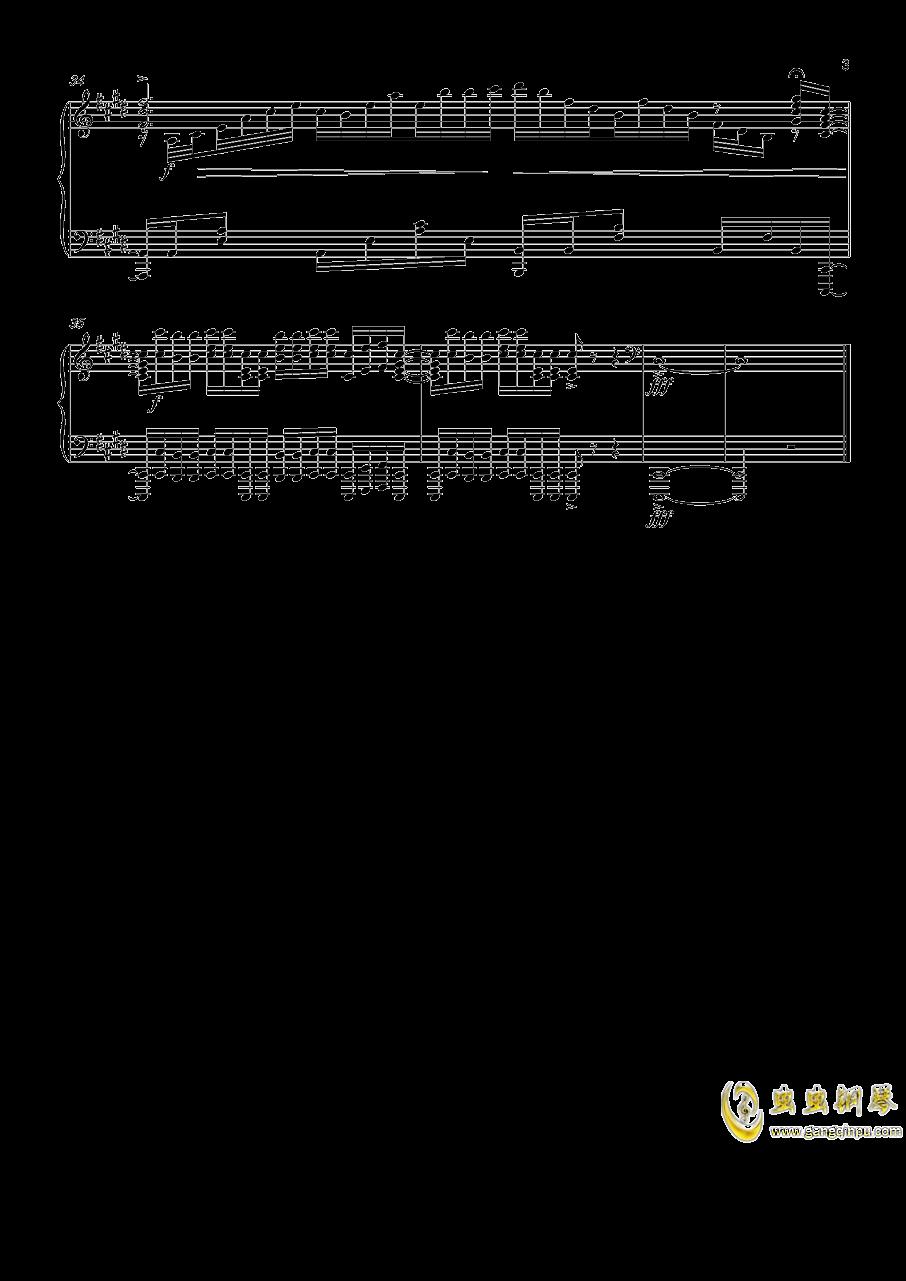刀剑神域第三季钢琴谱 第3页