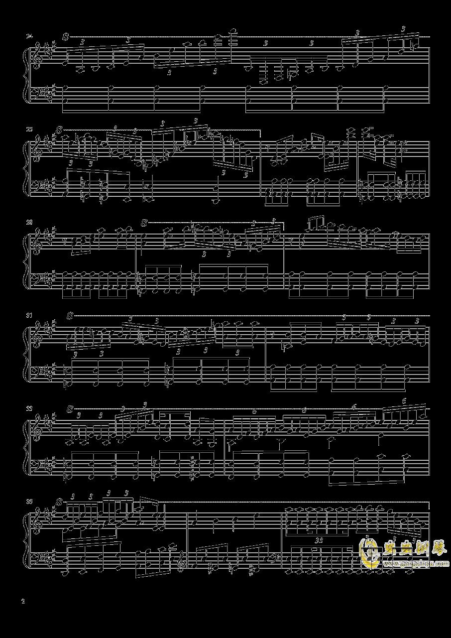 Aurora Requiem钢琴谱 第2页