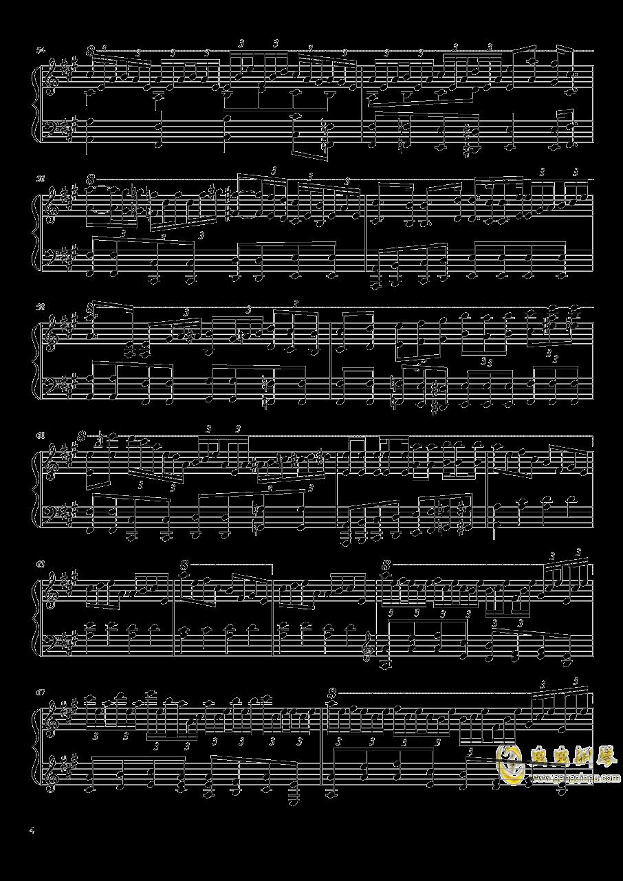 Aurora Requiem钢琴谱 第4页