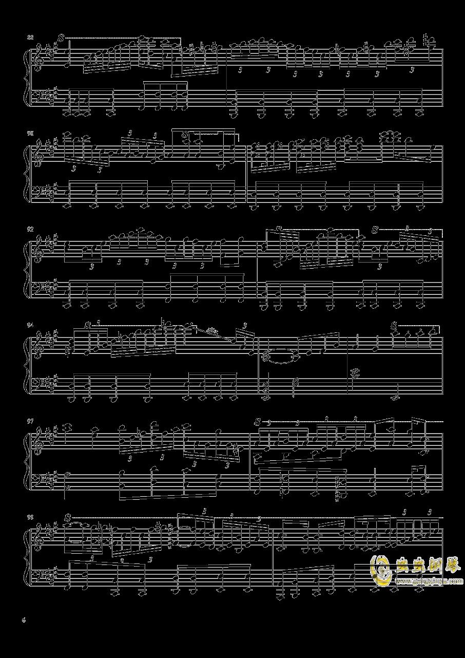 Aurora Requiem钢琴谱 第6页