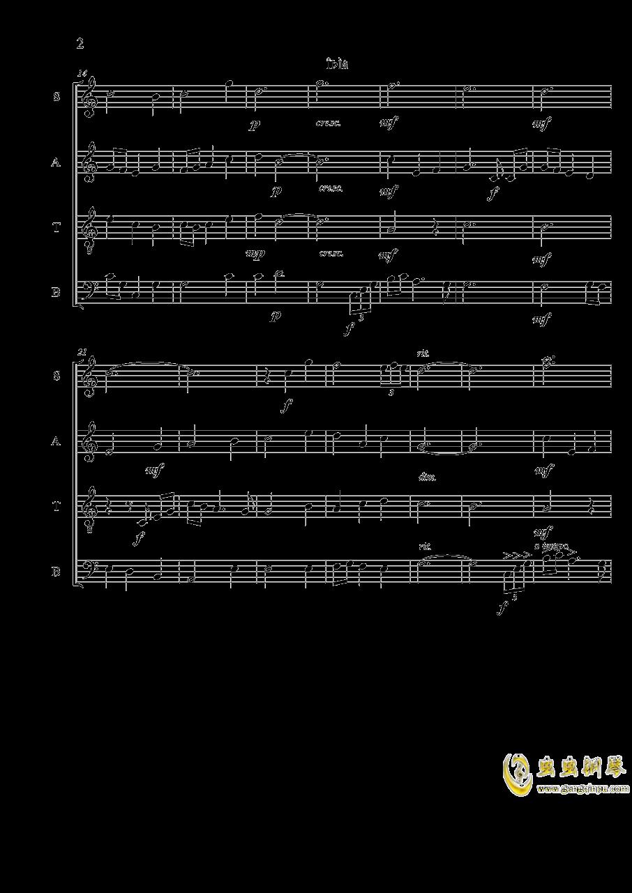 ice field钢琴谱 第2页