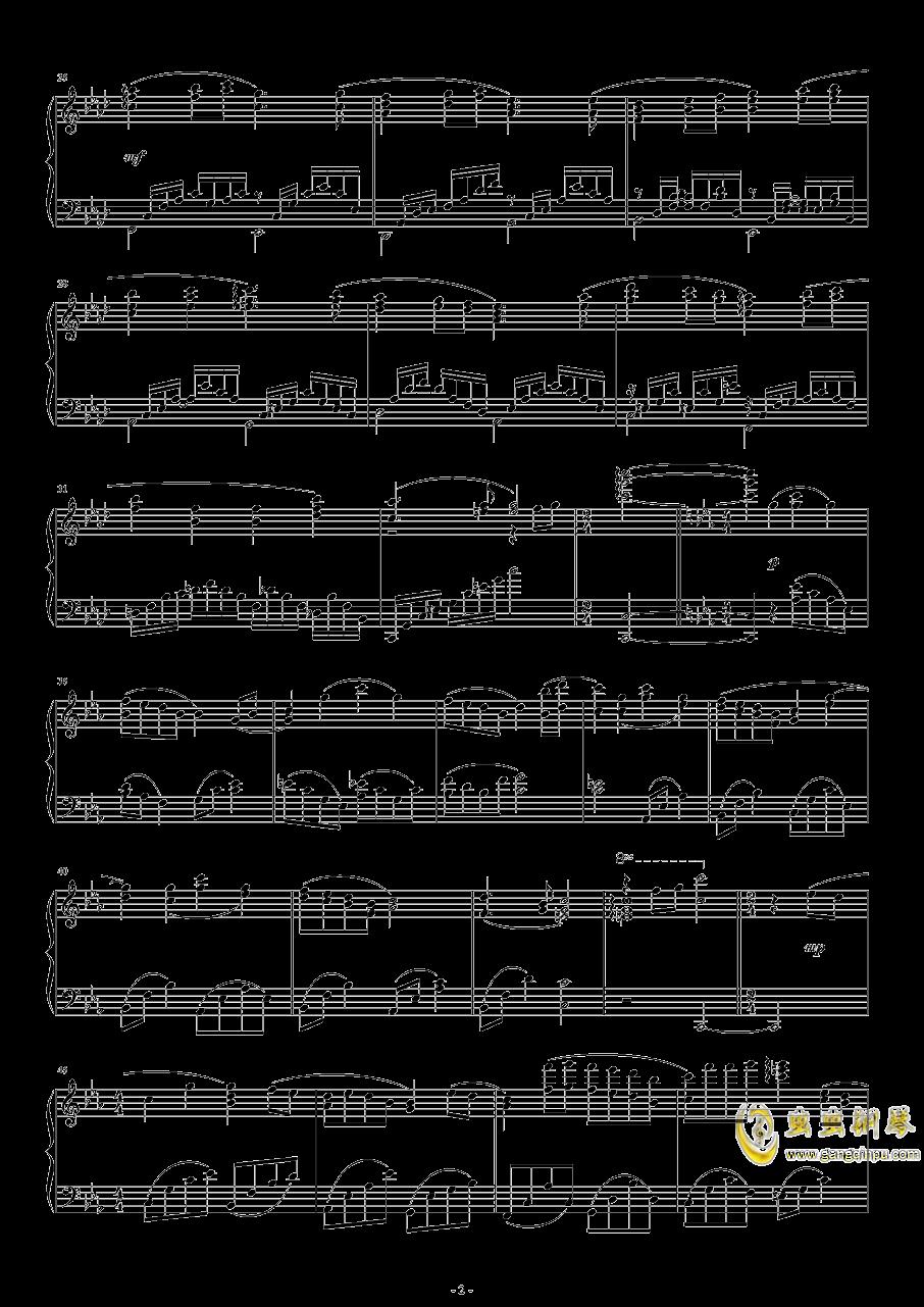 fairytale――第六章主题歌钢琴谱 第2页