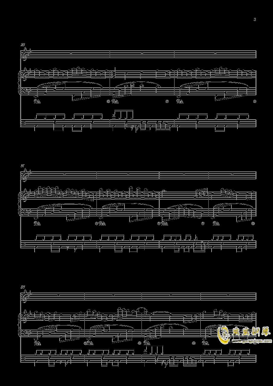 September钢琴谱 第3页