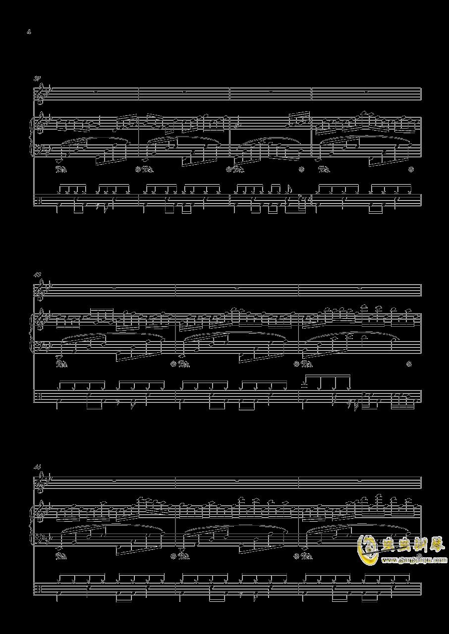 September钢琴谱 第4页