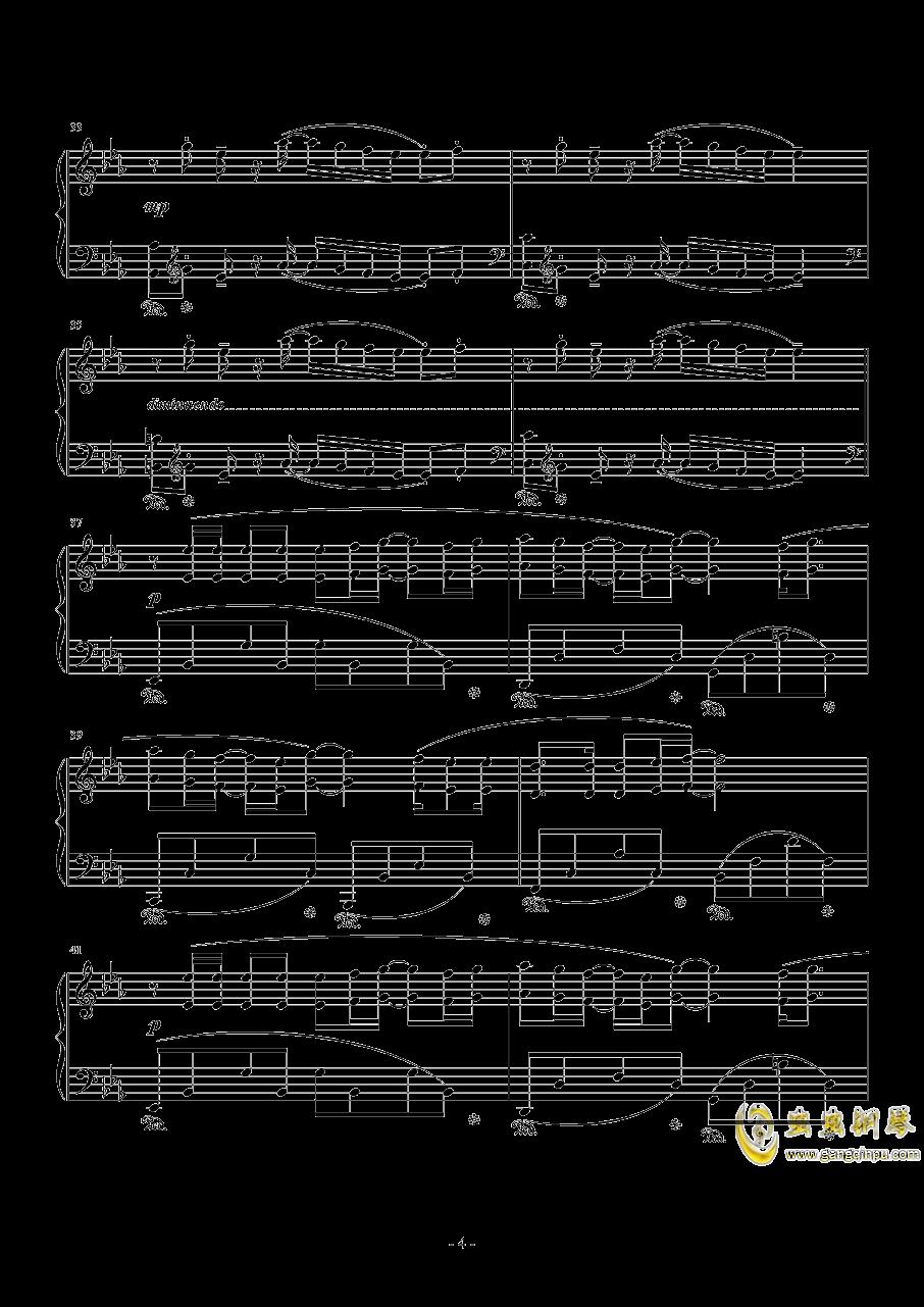 Fire Flower钢琴谱 第4页