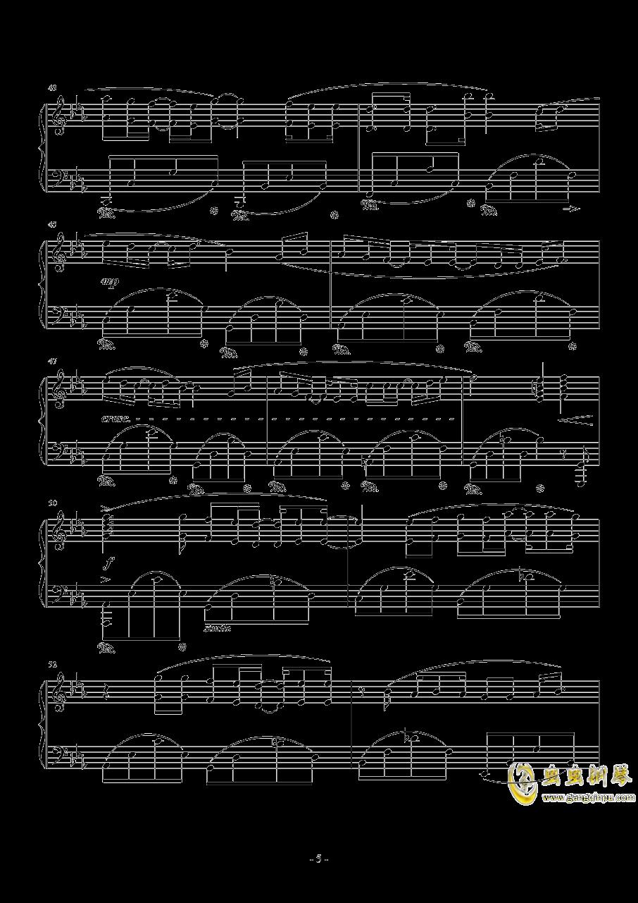 Fire Flower钢琴谱 第5页