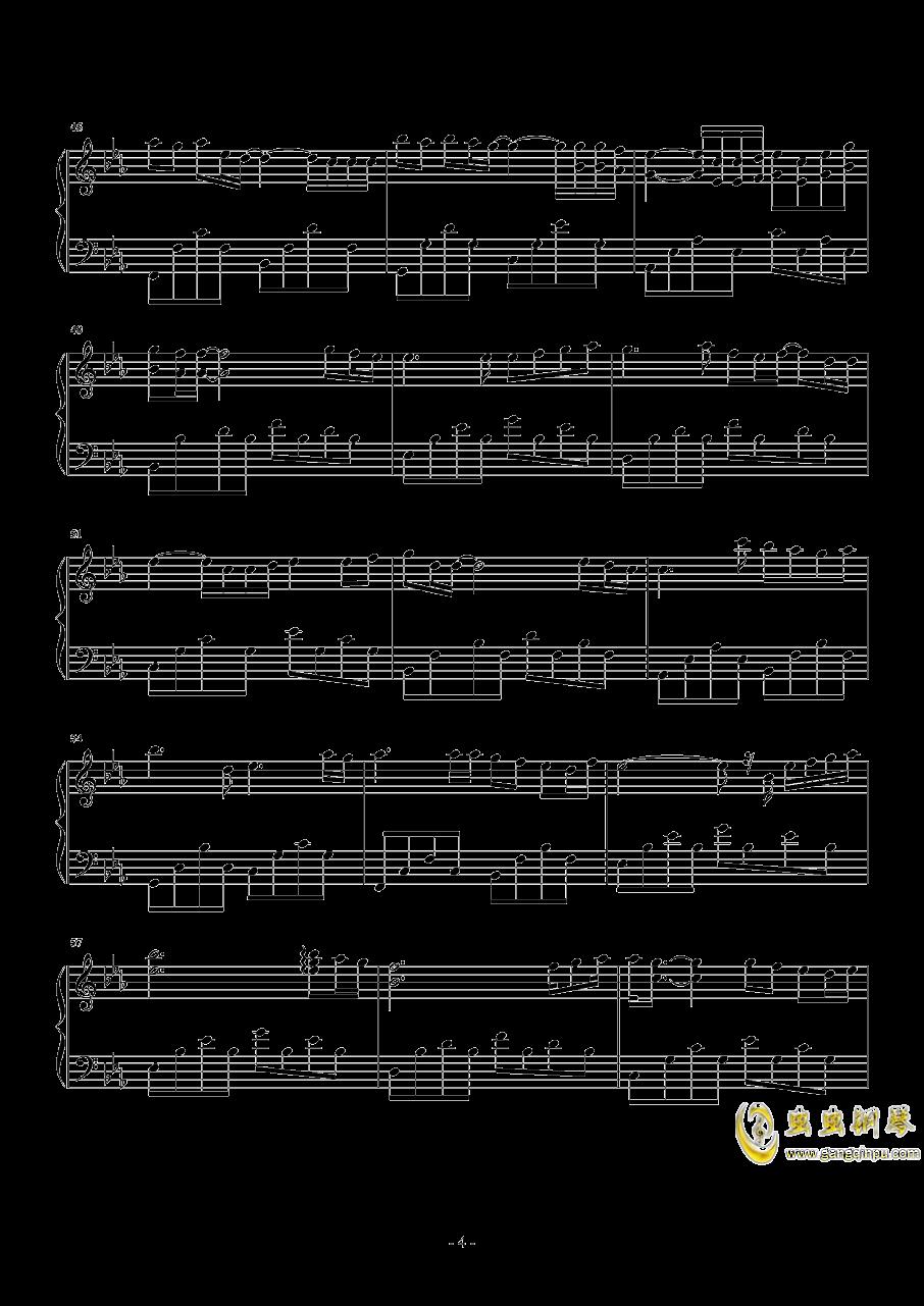 后来 华丽独奏钢琴谱 第4页