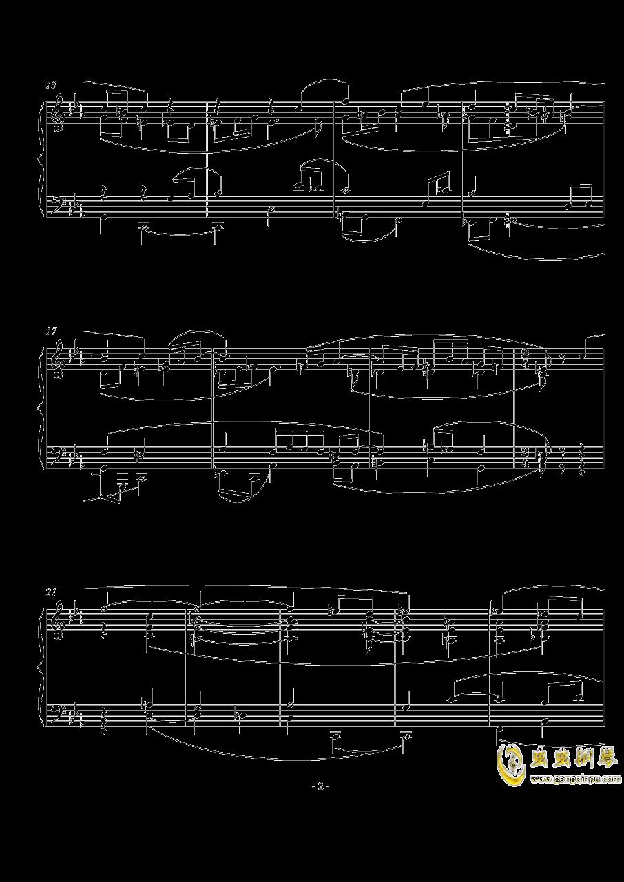 Kyrie钢琴谱 第2页