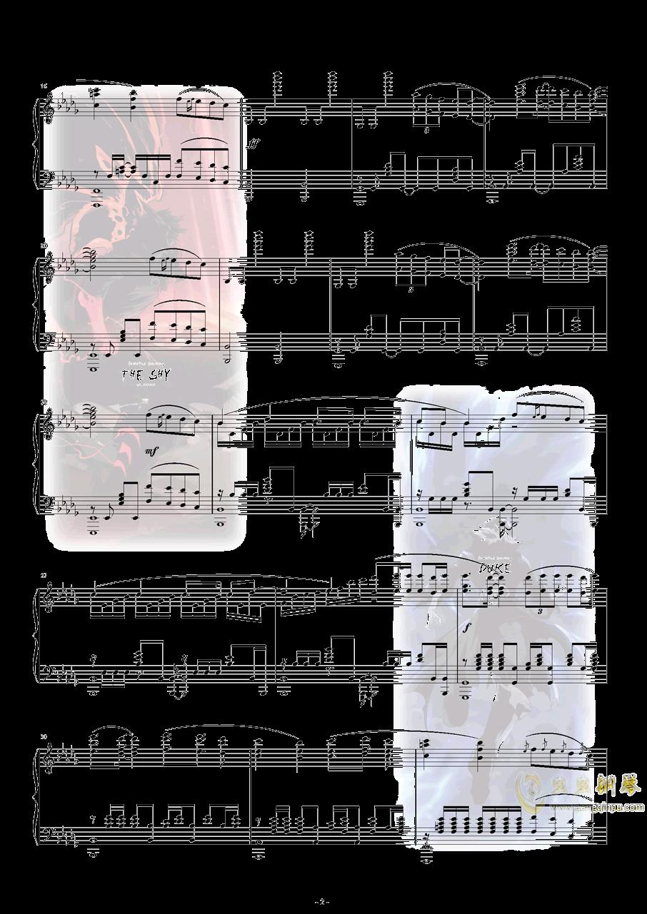 S8世界赛主题曲钢琴谱 第3页