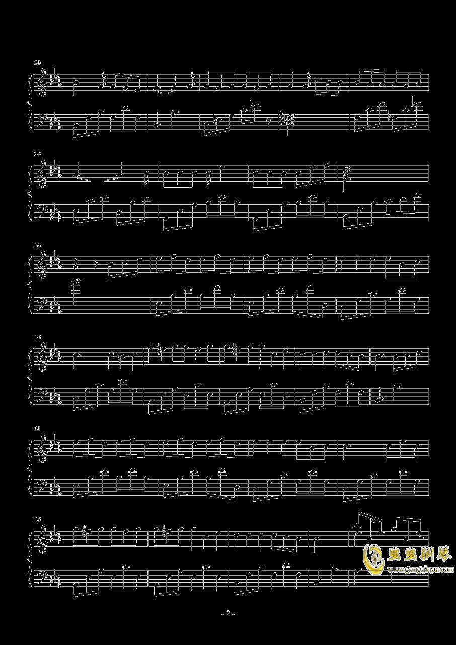 小半钢琴谱 第2页