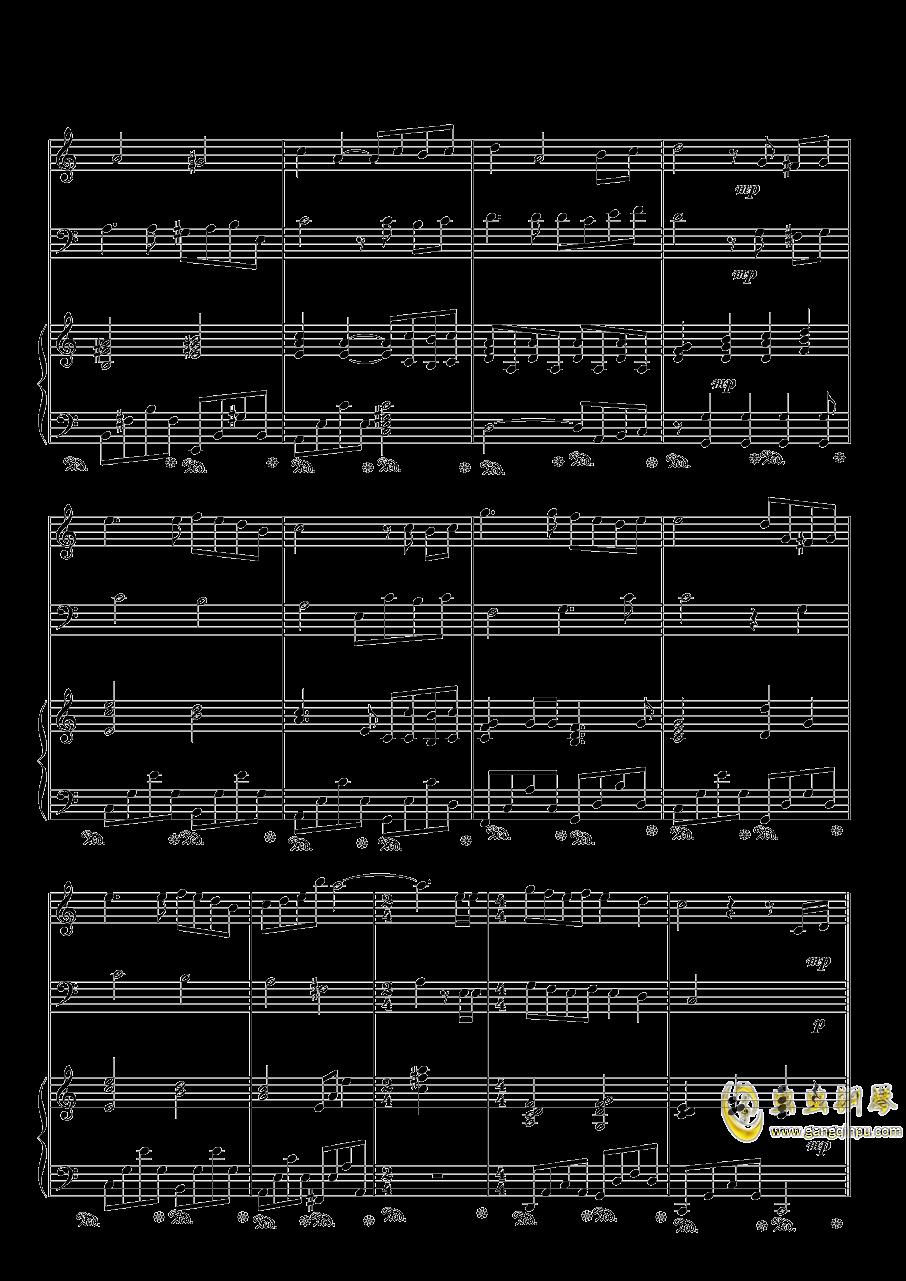 彩虹钢琴谱 第5页