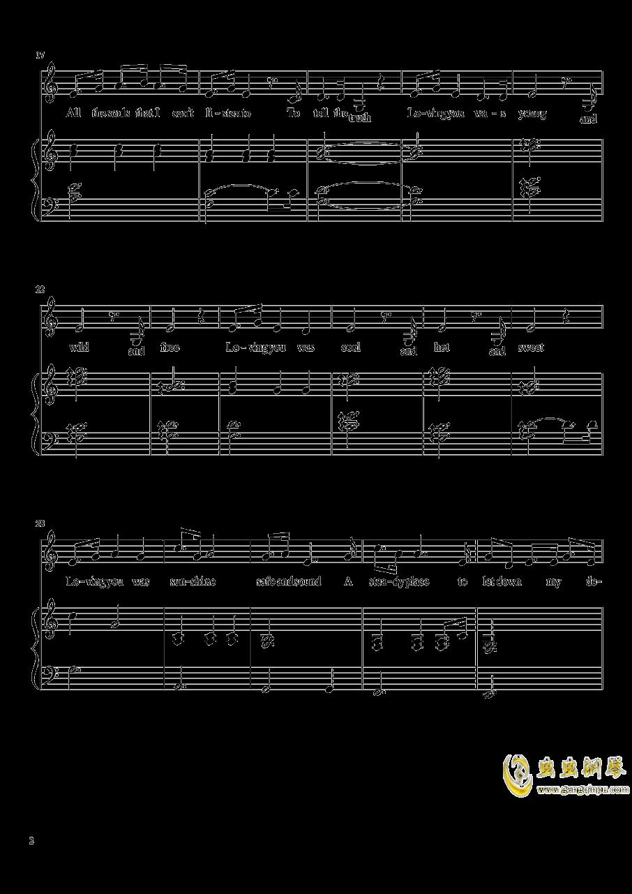 Consequences钢琴谱 第2页