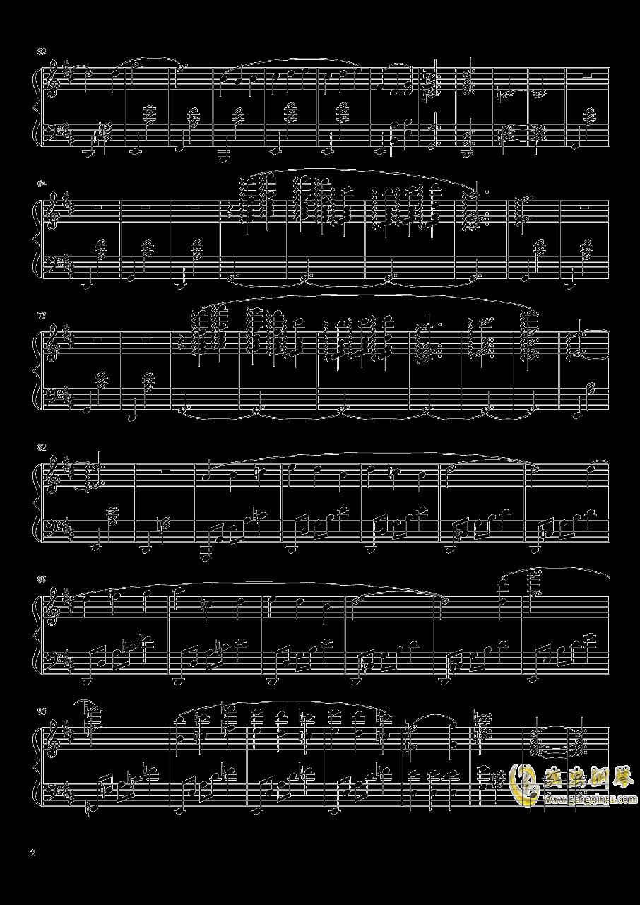 Gymnopedie No.1钢琴谱 第2页