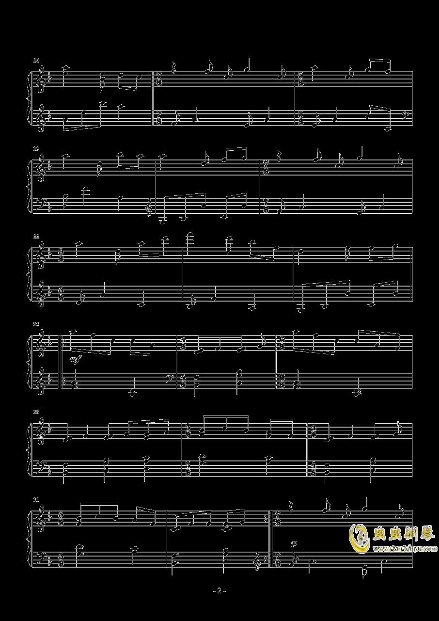 1 小春天气钢琴谱 第2页