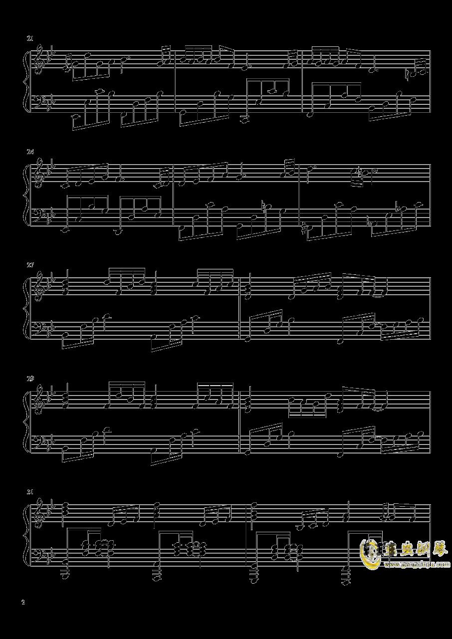 是你鼓励了我钢琴谱 第2页