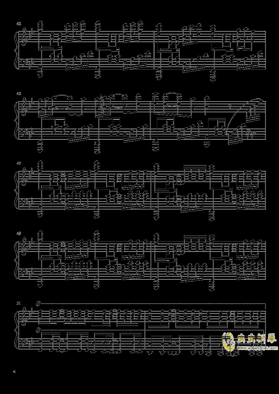 是你鼓励了我钢琴谱 第4页