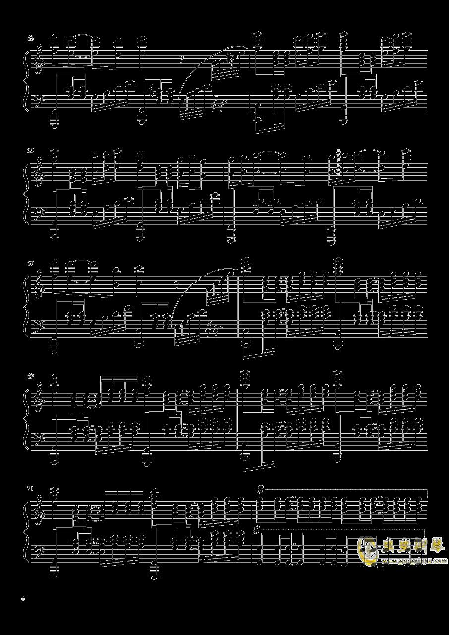 是你鼓励了我钢琴谱 第6页