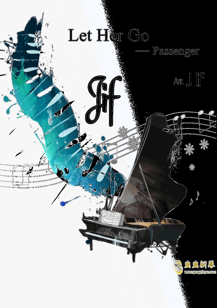 Let Her Go钢琴谱 第1页