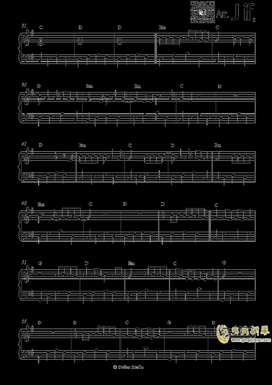 Let Her Go钢琴谱 第3页