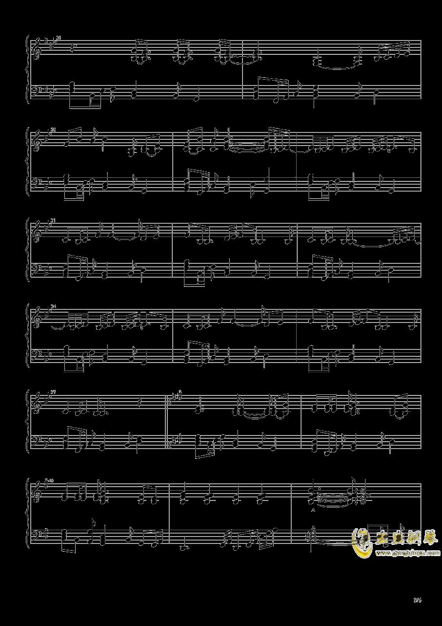 幽深的森林钢琴谱 第3页