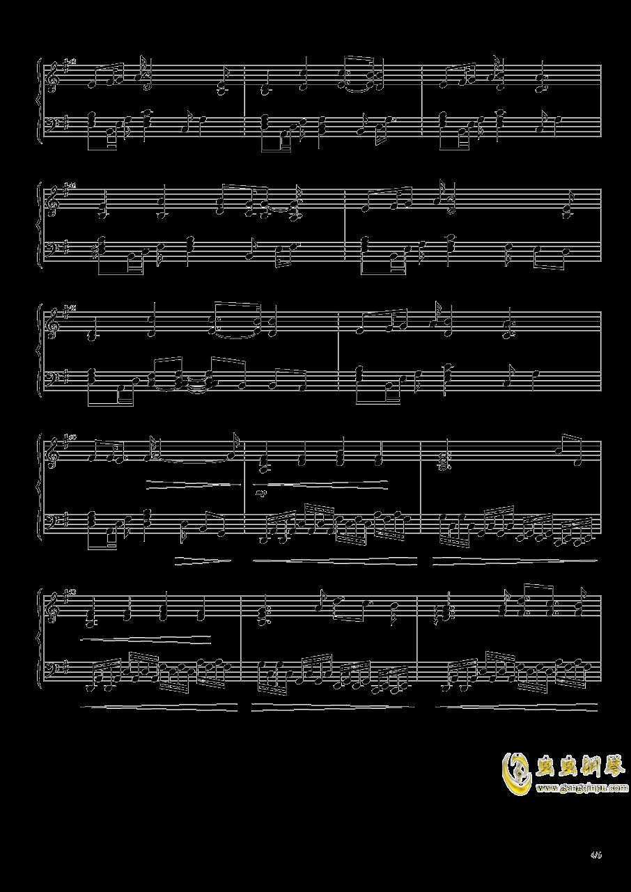 幽深的森林钢琴谱 第4页