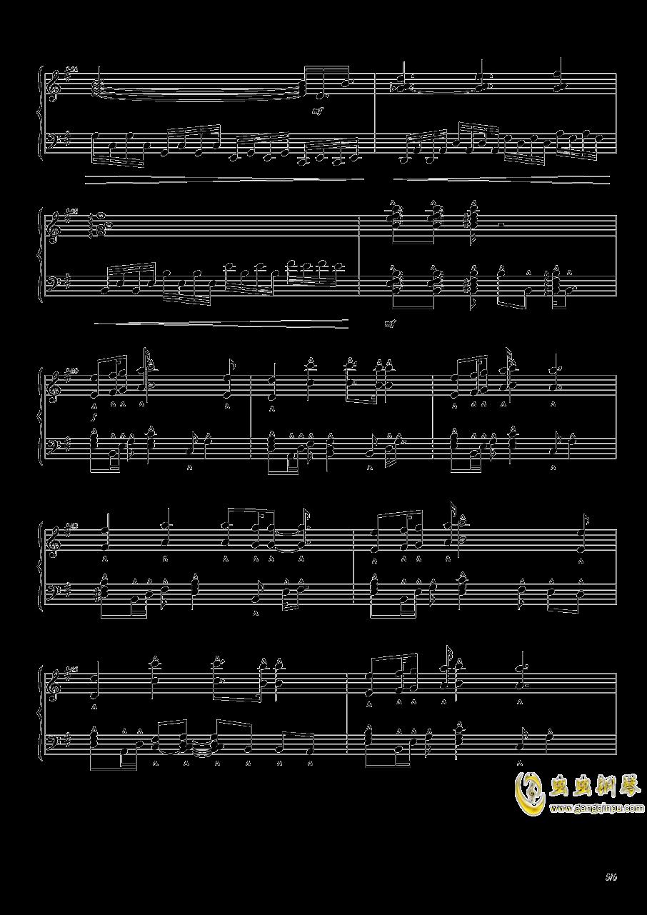 幽深的森林钢琴谱 第5页