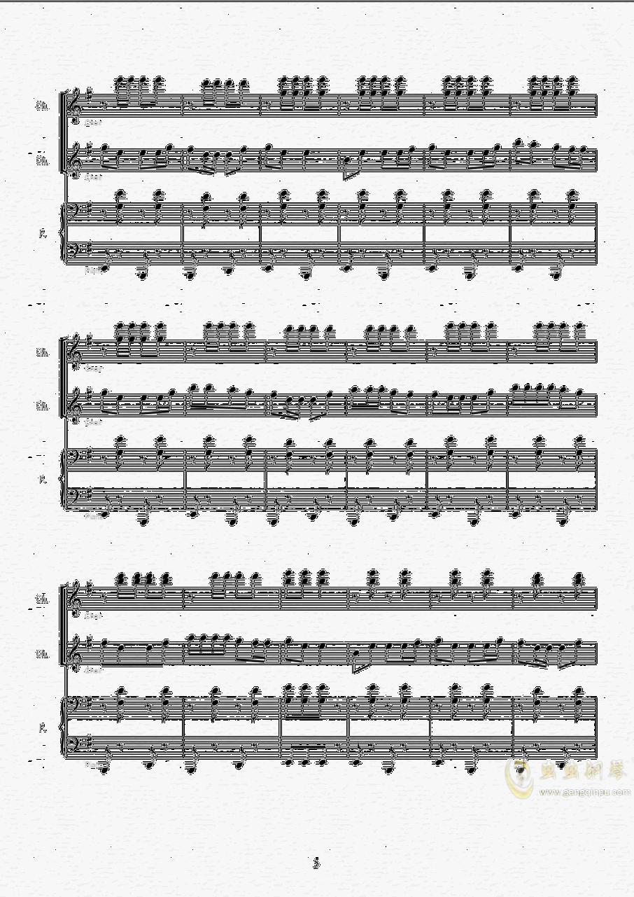 伊娃的波尔卡钢琴谱 第5页