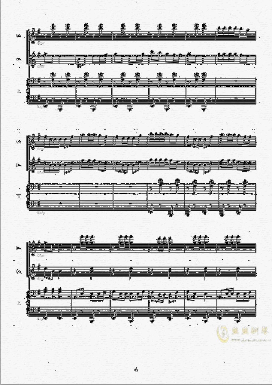 伊娃的波尔卡钢琴谱 第6页