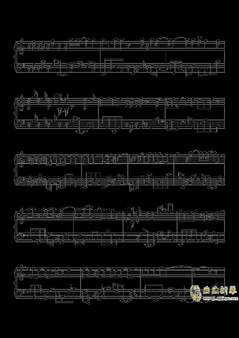 沙漠骆驼钢琴谱 第2页