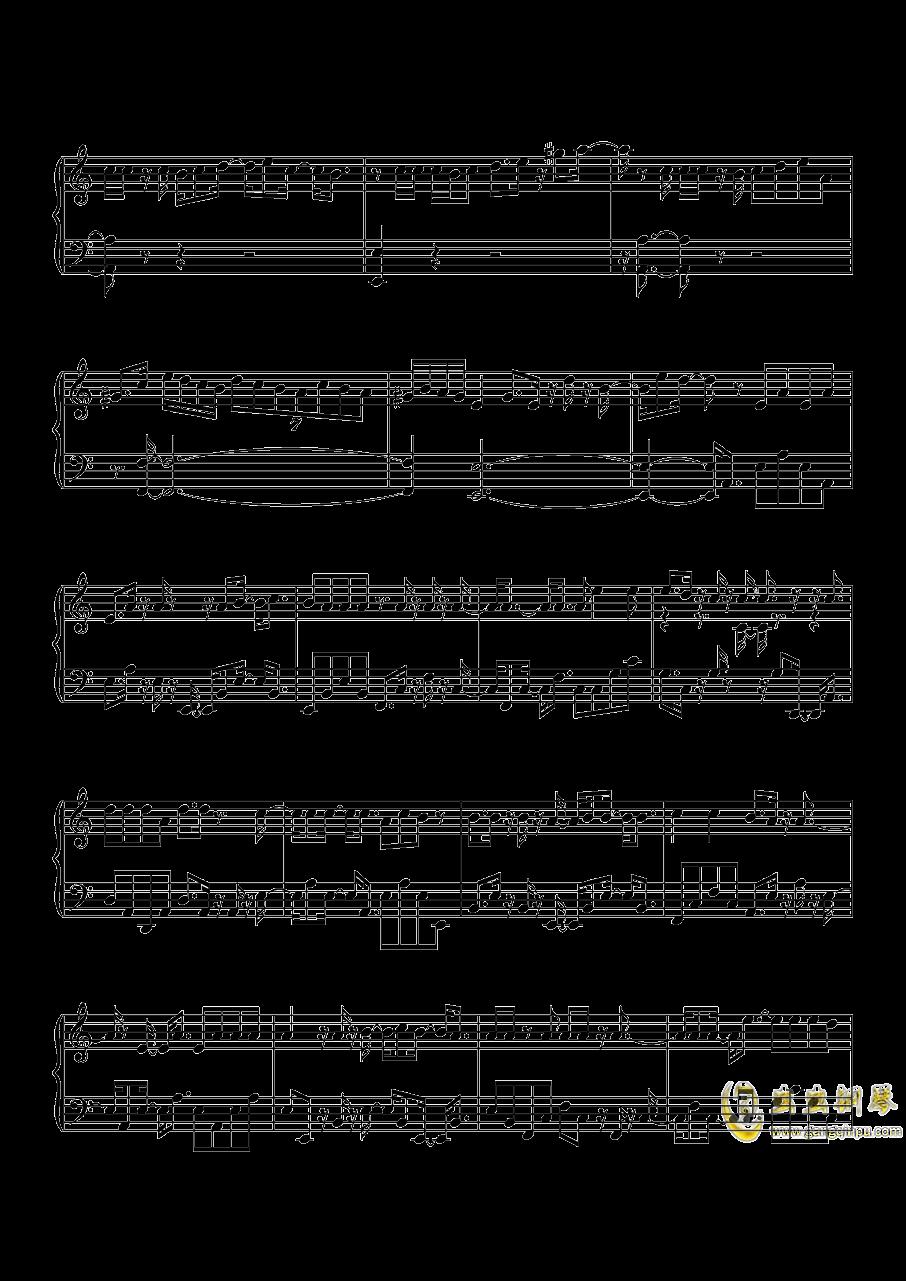 沙漠骆驼钢琴谱 第3页