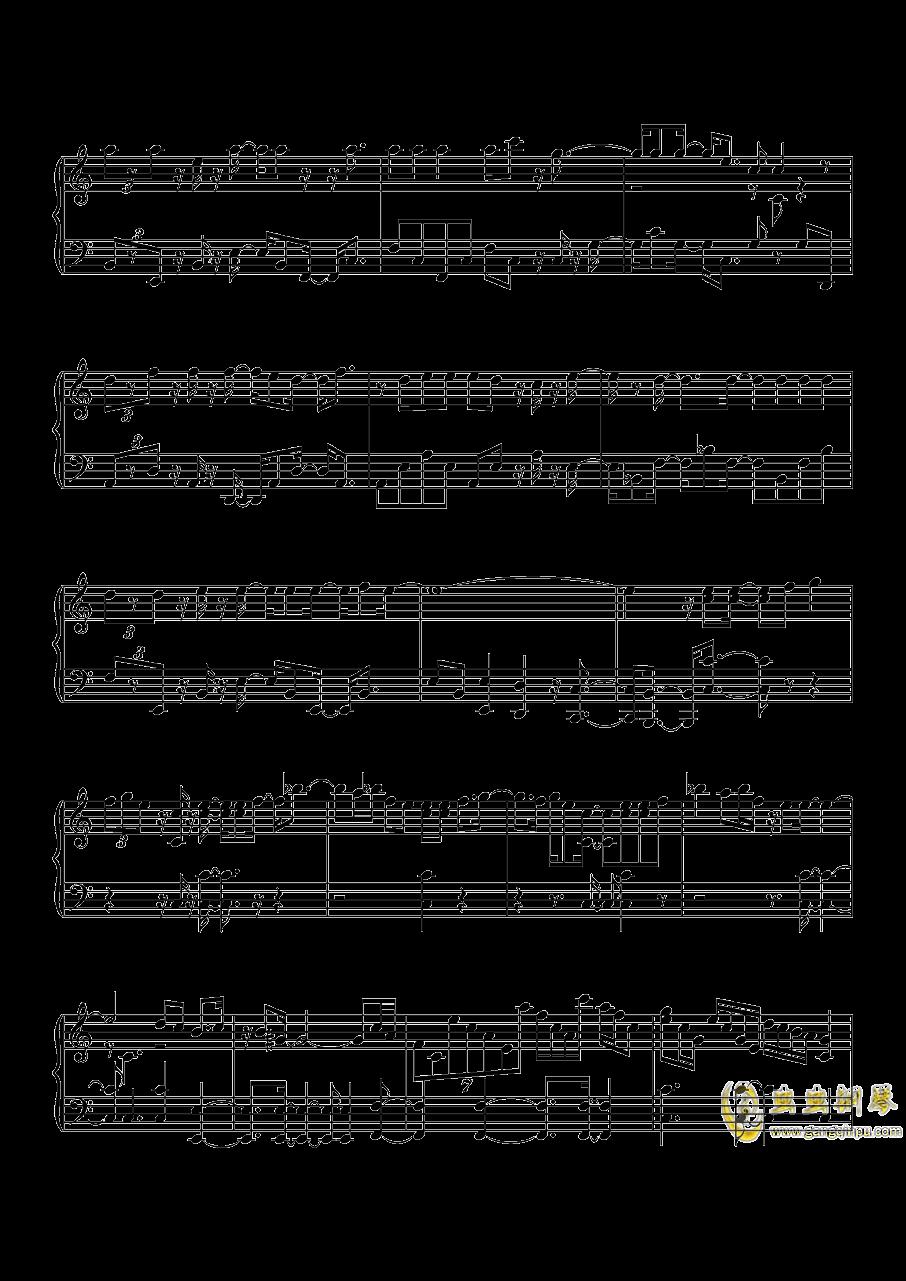 沙漠骆驼钢琴谱 第5页