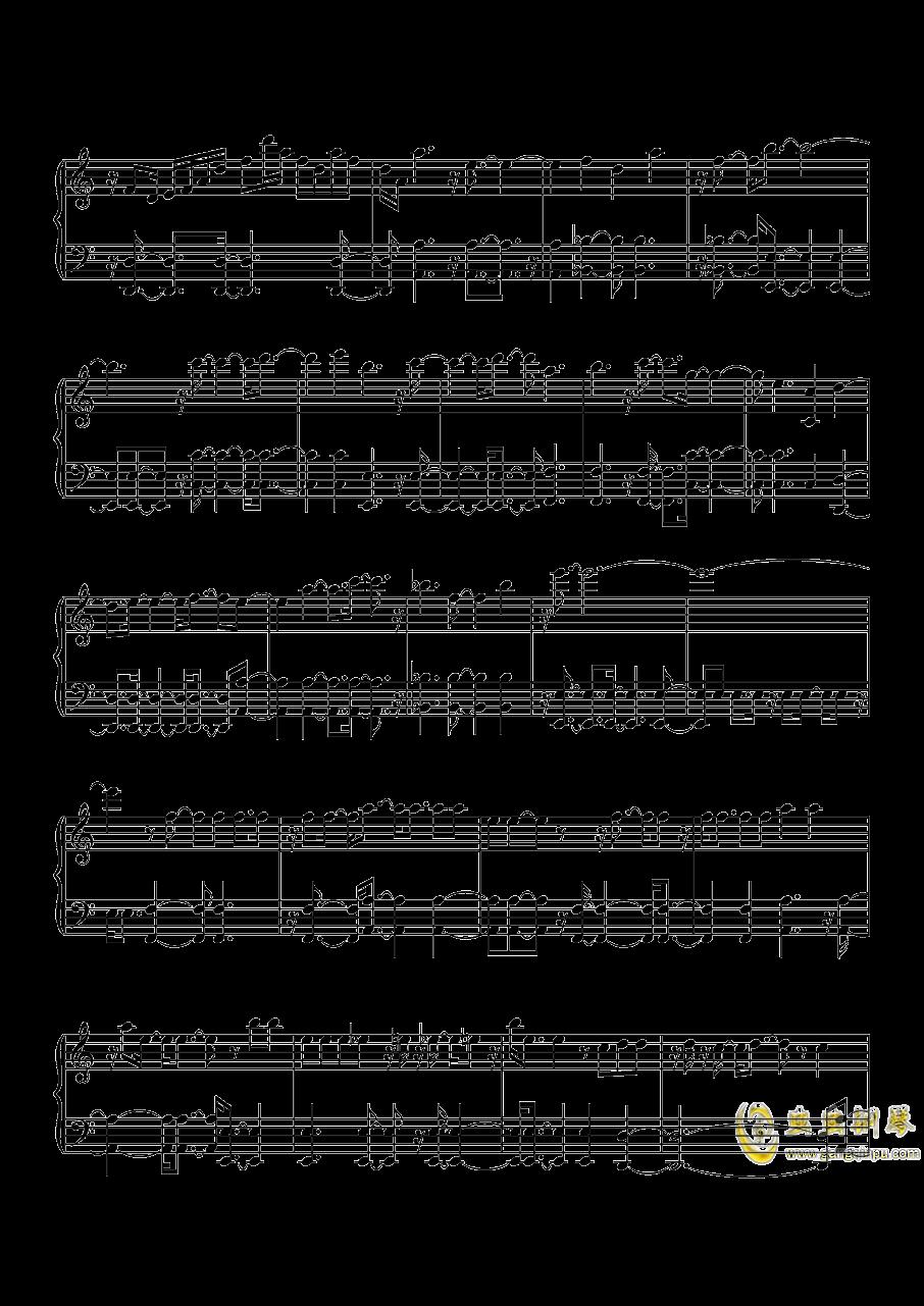 沙漠骆驼钢琴谱 第6页