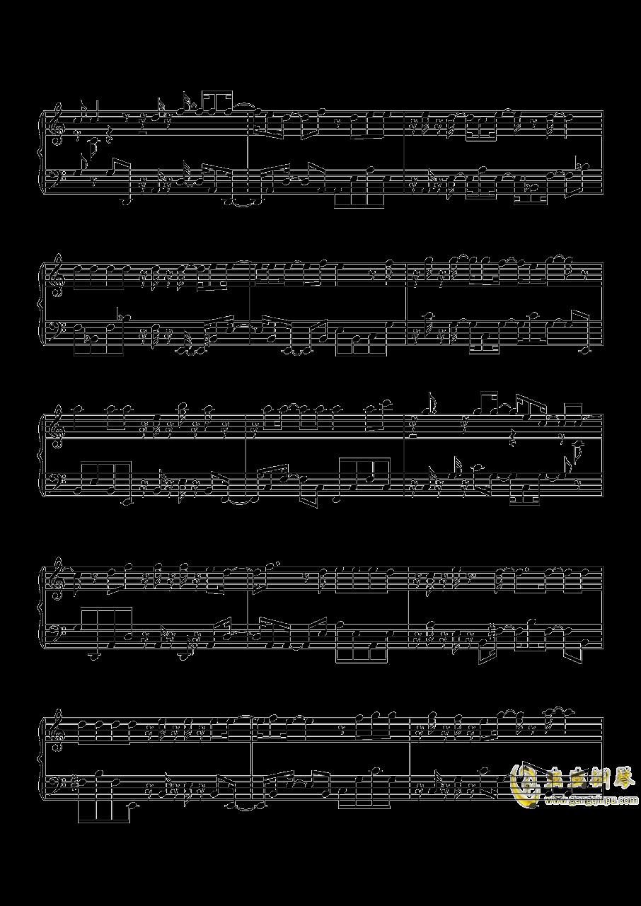 沙漠骆驼钢琴谱 第8页