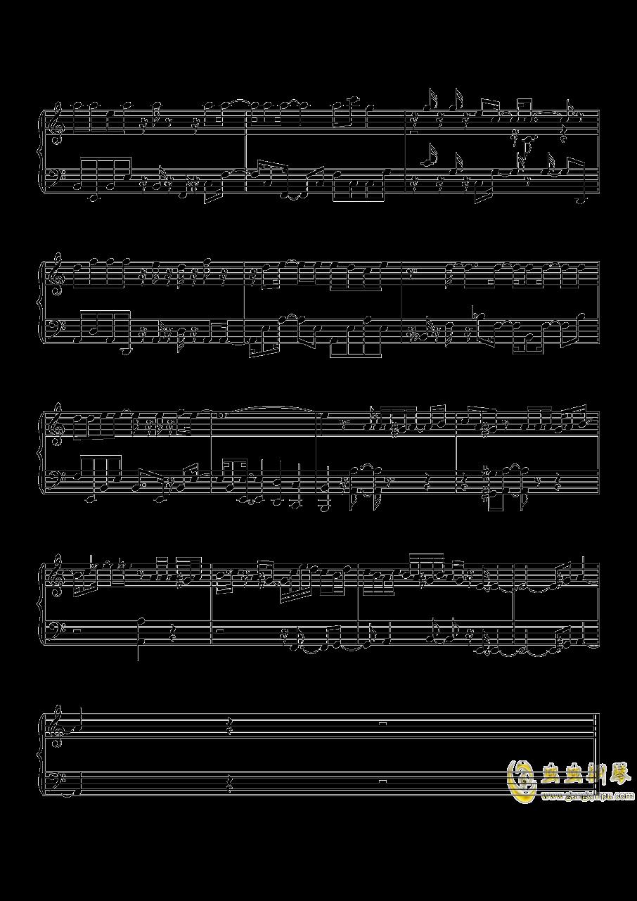 沙漠骆驼钢琴谱 第9页
