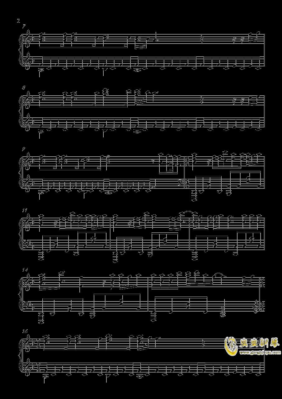 Head Above Water钢琴谱 第2页