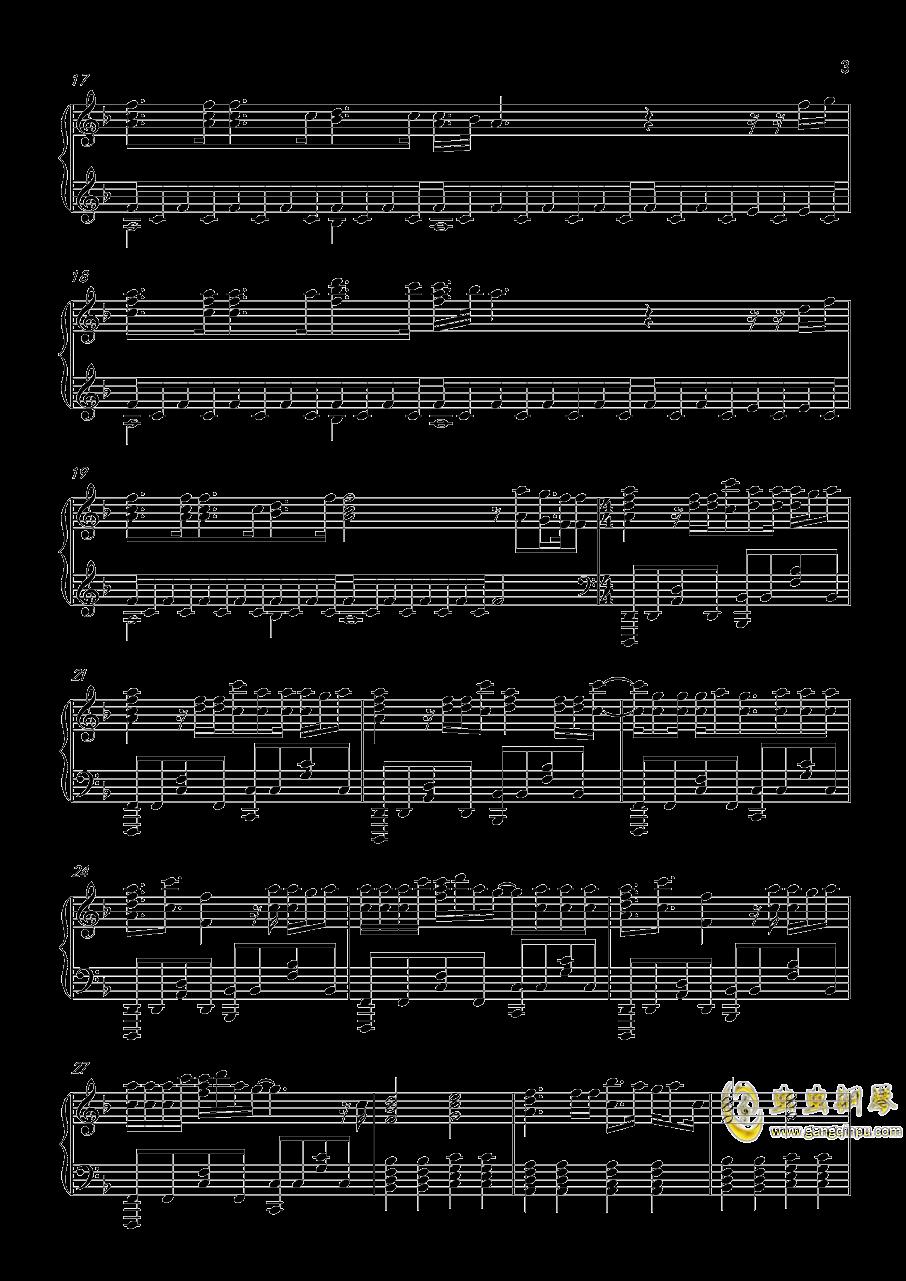 Head Above Water钢琴谱 第3页