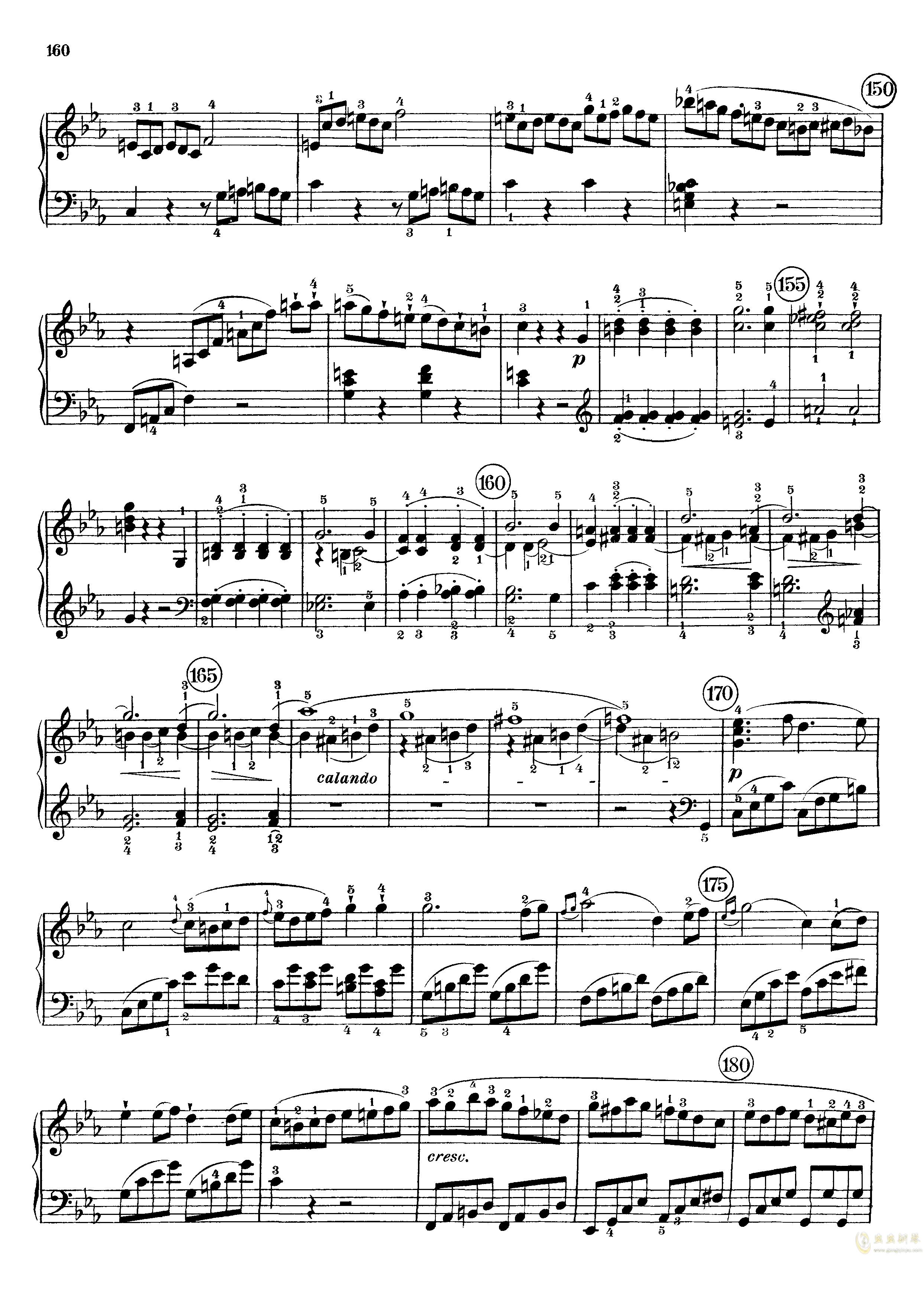 c小调第八号钢琴奏鸣曲钢琴谱 第18页