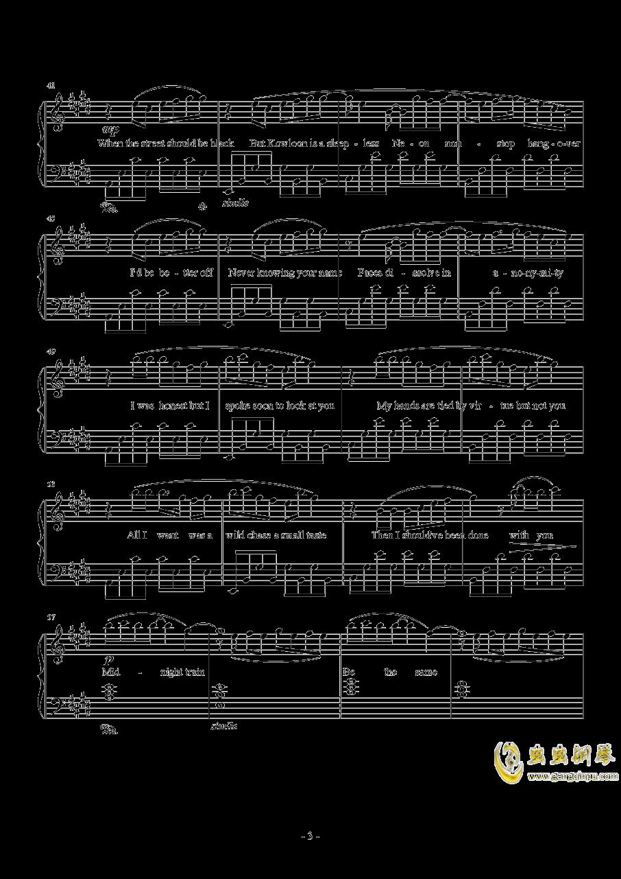 Midnight Train澳门星际官网 第3页
