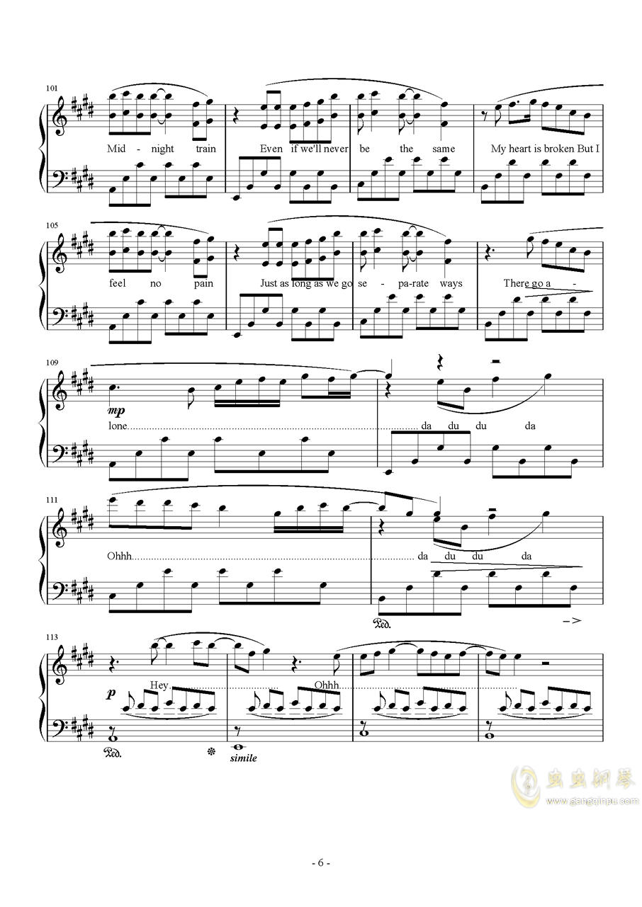 Midnight Train澳门星际官网 第6页