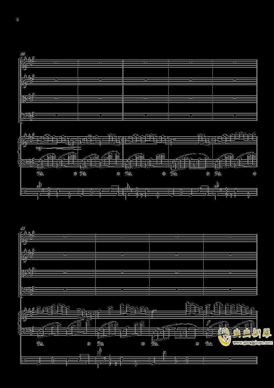 October钢琴谱 第8页