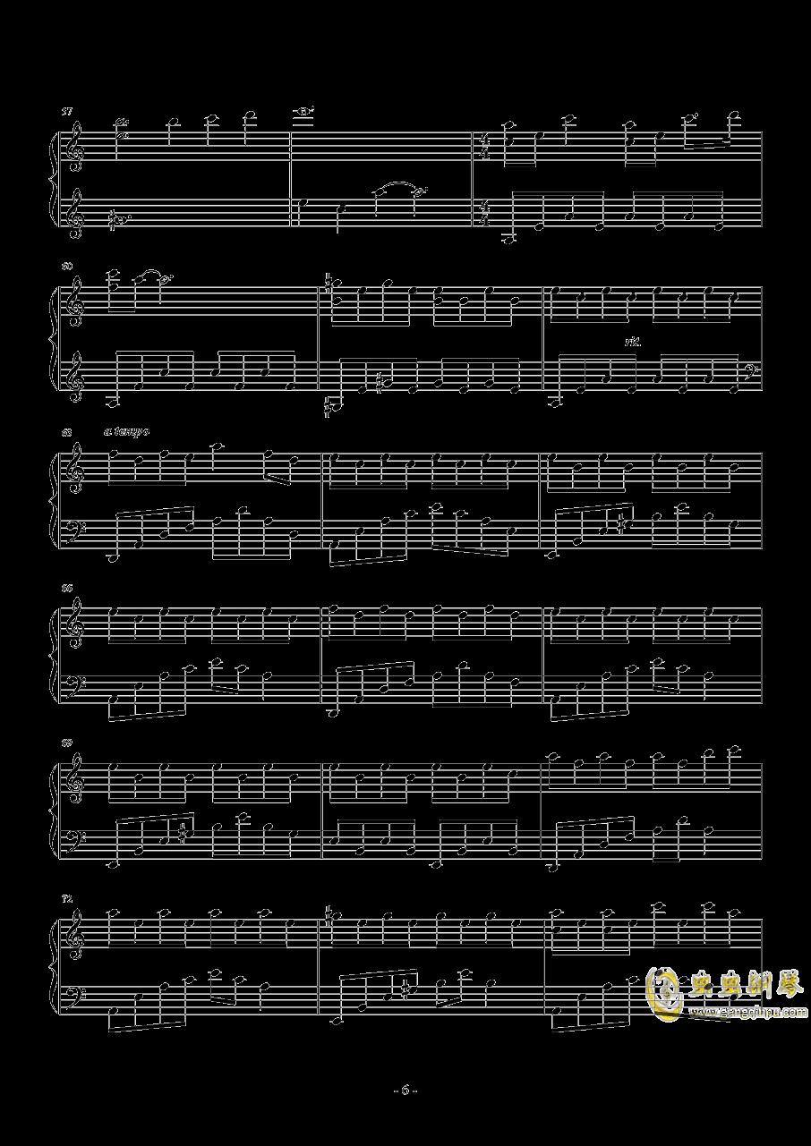 Nocturne in a Minor钢琴谱 第6页