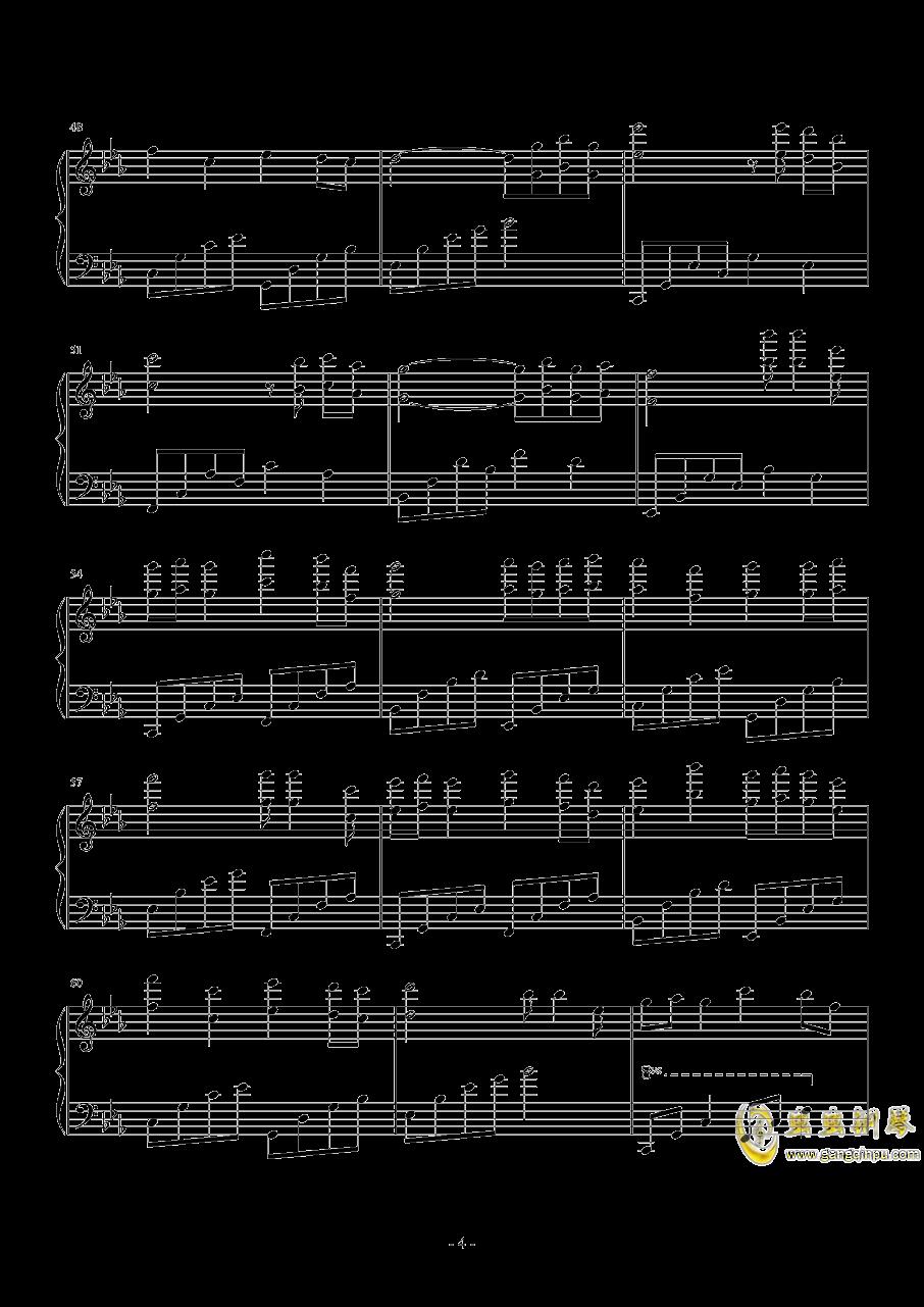 长相思・春忆钢琴谱 第4页