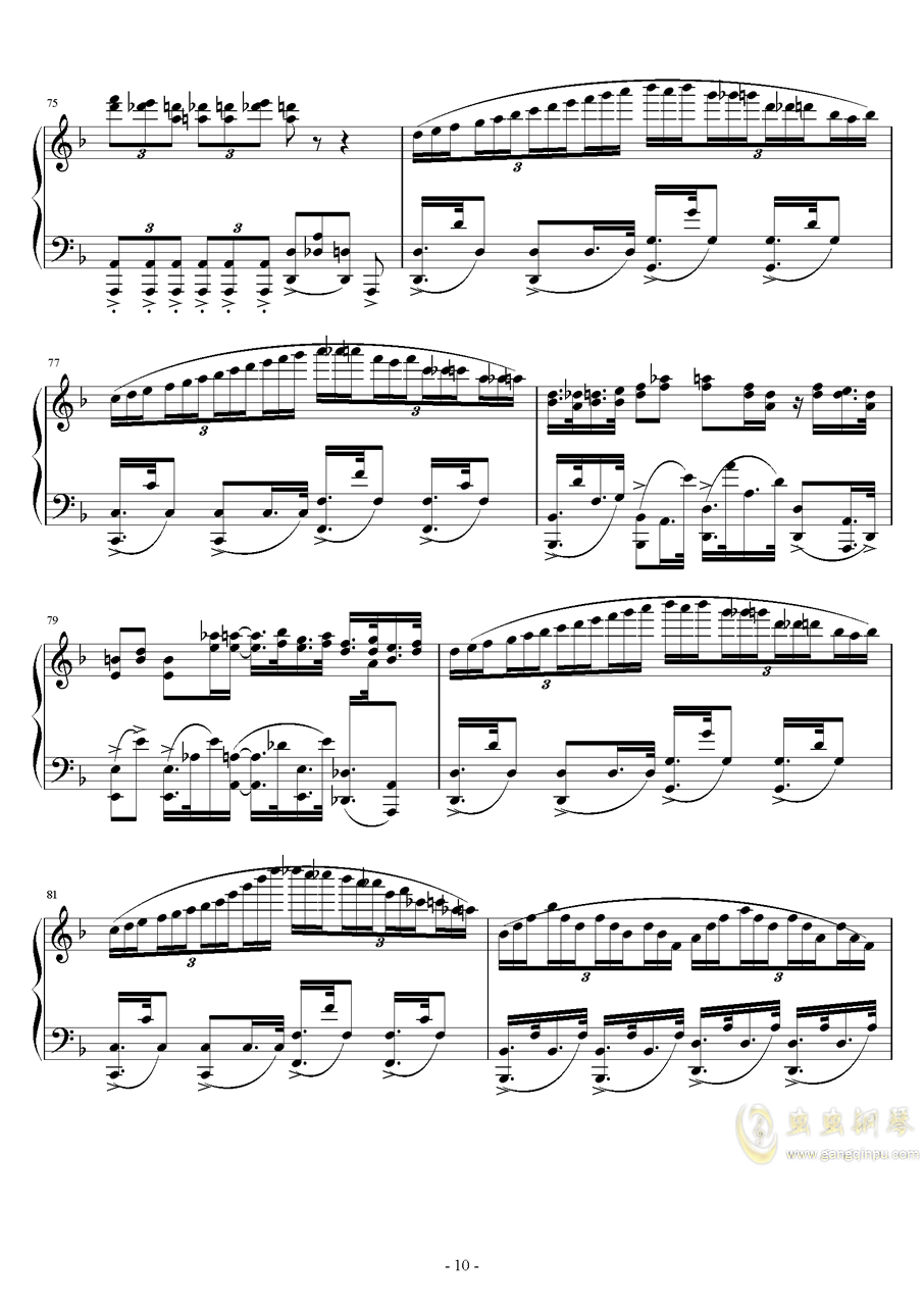 Eclipse Parade钢琴谱 第10页