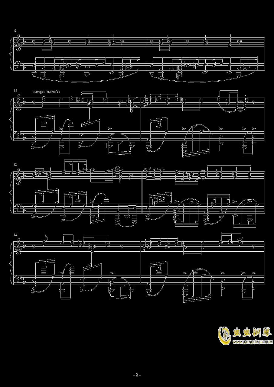 Eclipse Parade钢琴谱 第2页