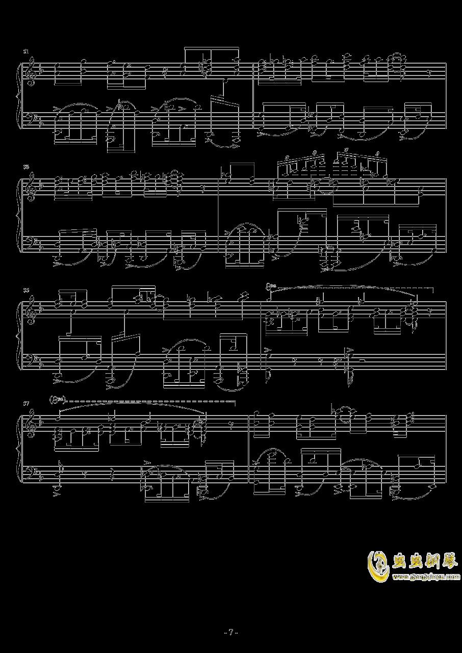 Eclipse Parade钢琴谱 第7页