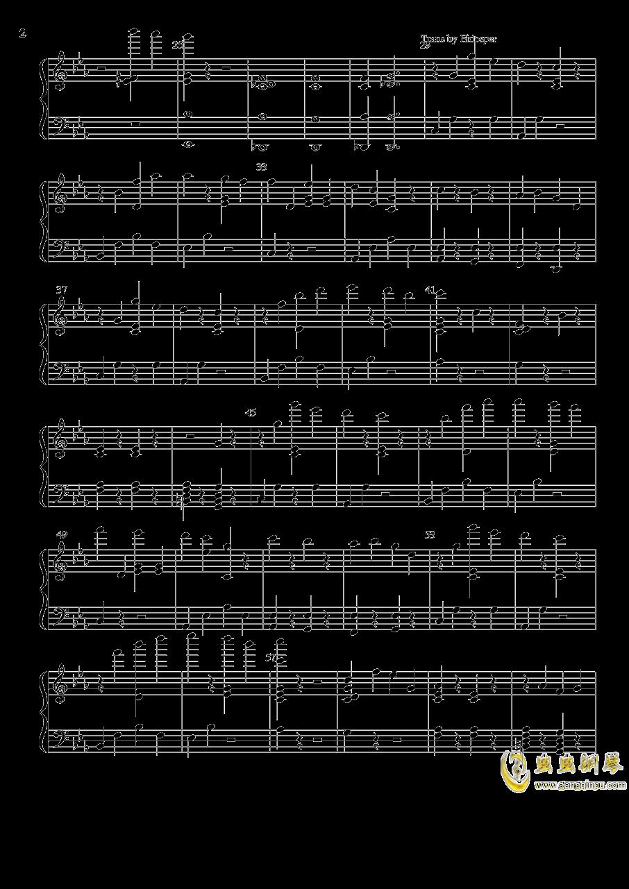 Rachel钢琴谱 第2页
