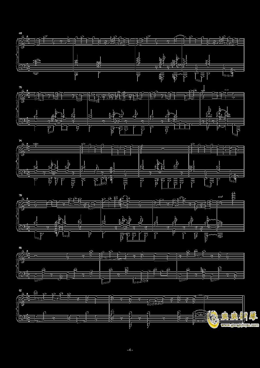 焦糖玛奇朵钢琴谱 第4页