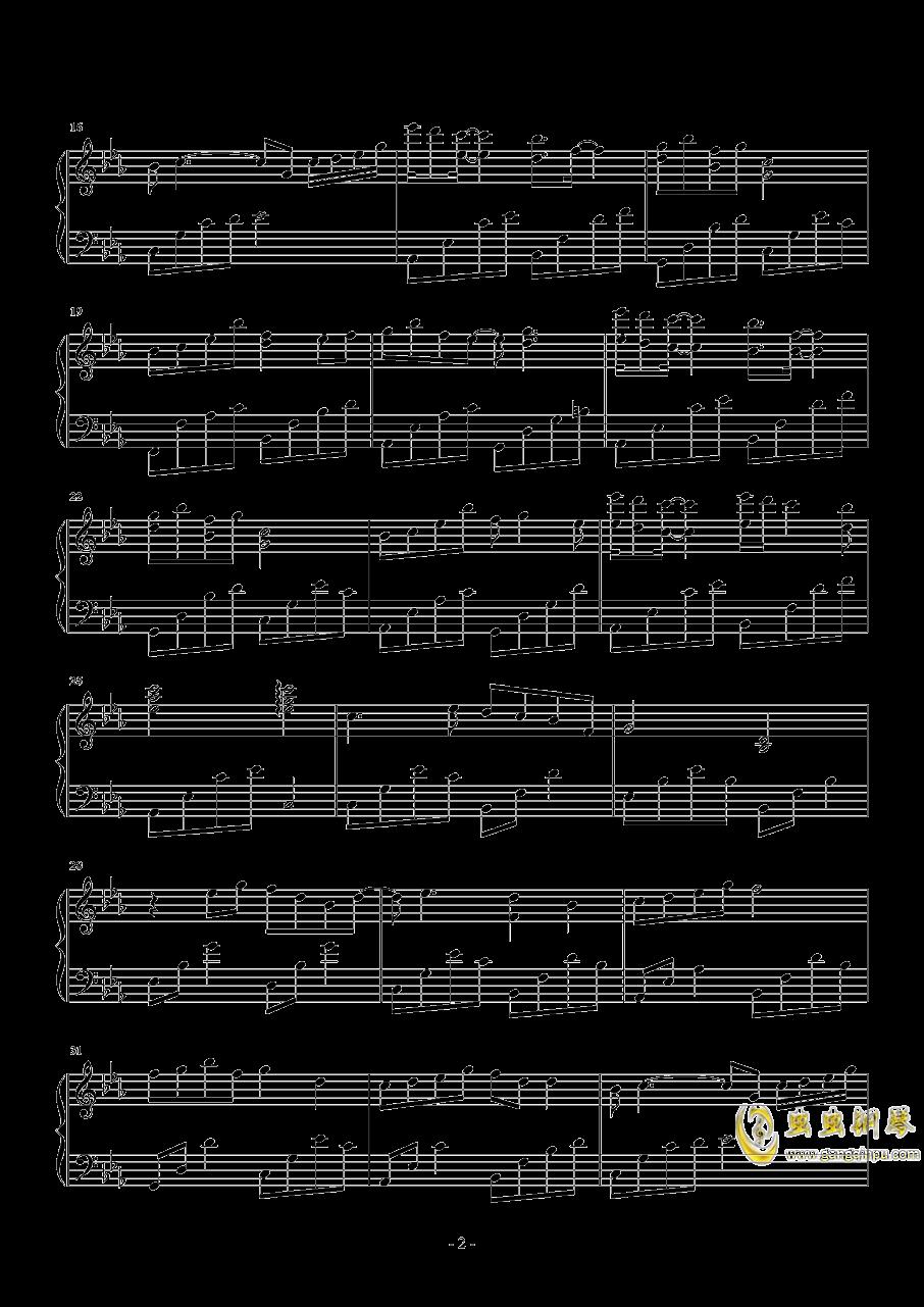 思慕钢琴谱 第2页