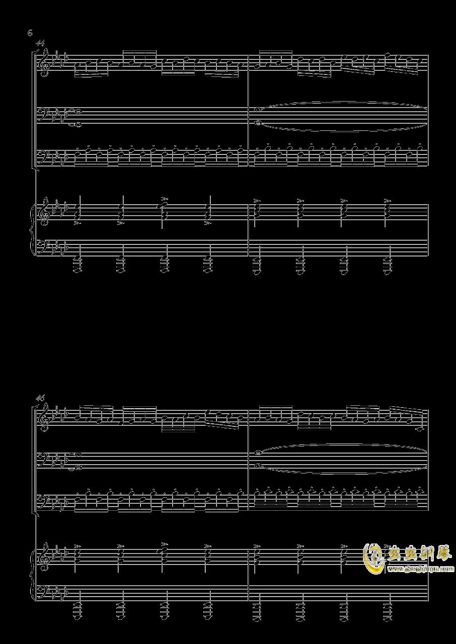 主唱之歌钢琴谱 第6页