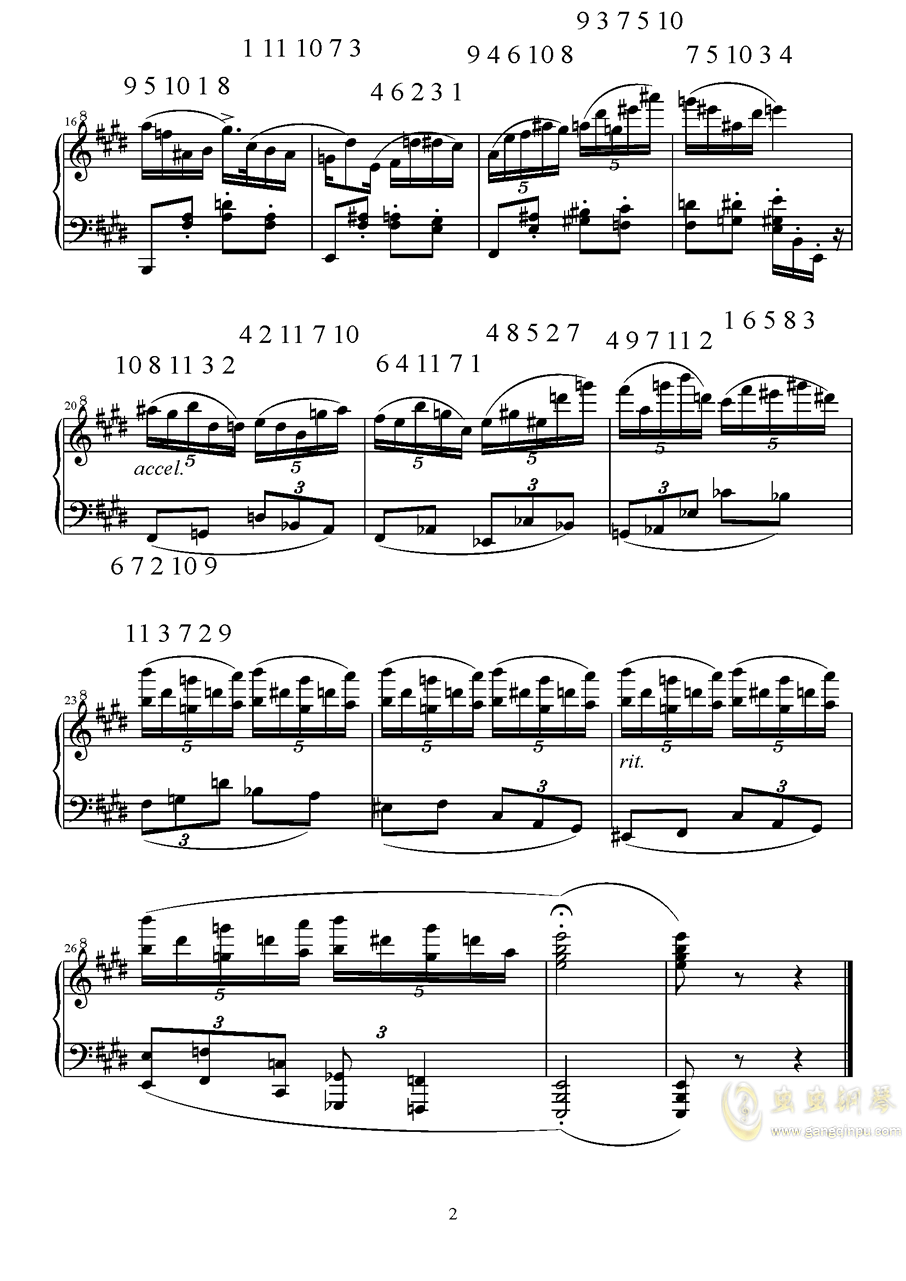 招财进宝钢琴谱 第2页